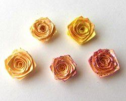 origami lesson paper rose flower