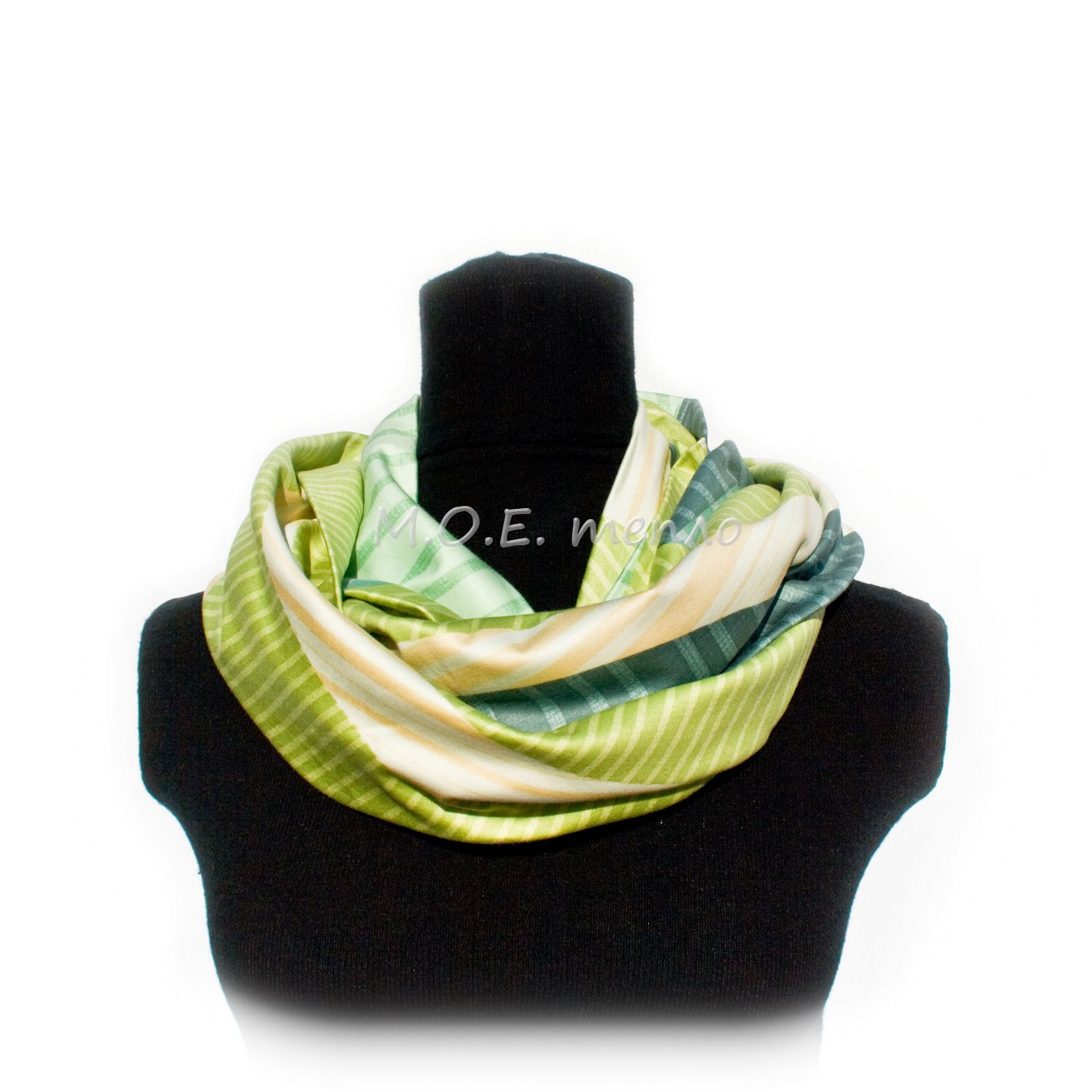 accessories summer clothes scarf neckwarmer green