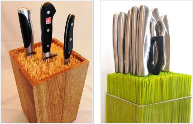 knife wooden handicrafts make rack
