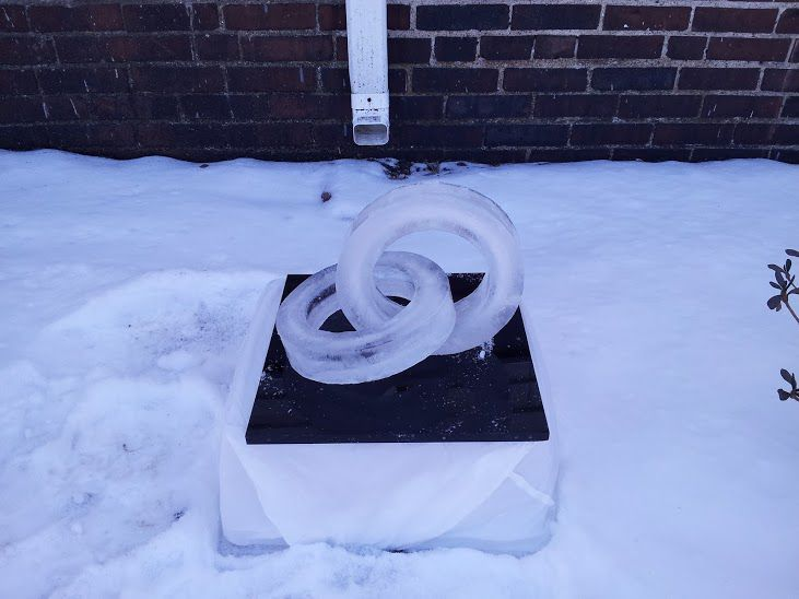 mold unusual sculptures ice make