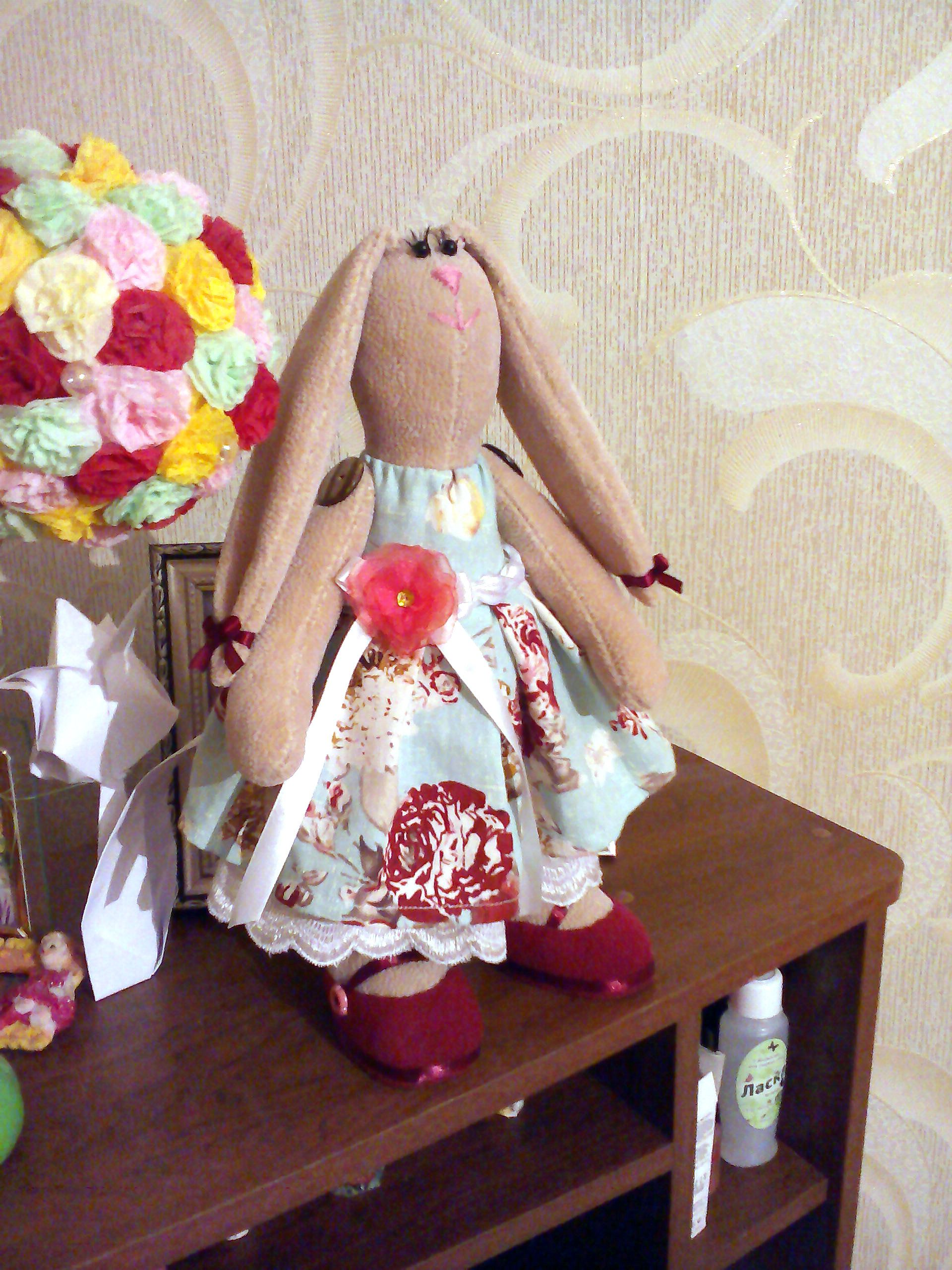 toy bunny children handmade