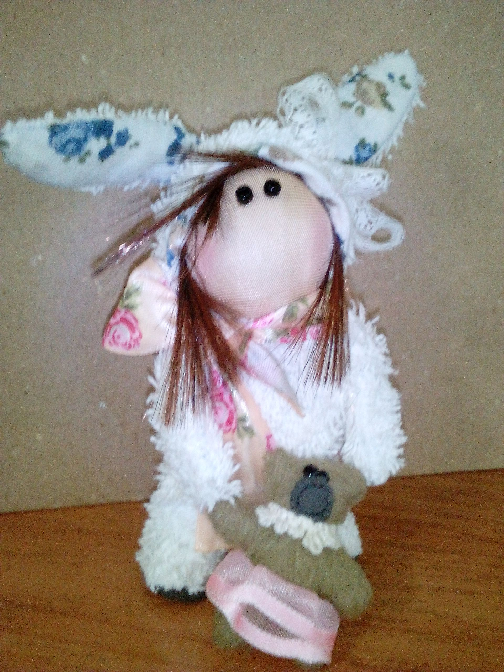 handmade toy gift bunny kids