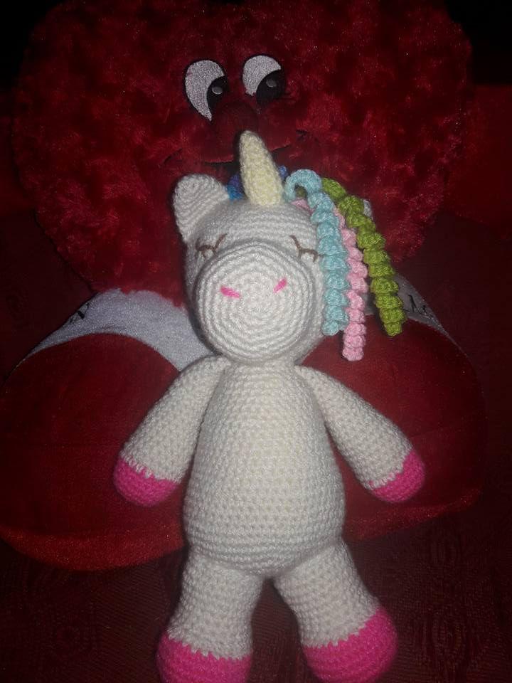 doll gift toys amigurumis unicornio