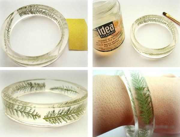 resin jewelery costume make bracelets