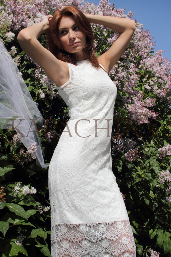 gabriel kapachiny dress white