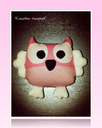 toy textile pillow kids owl