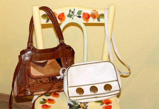 colorful vintage purse handmade retro