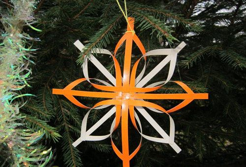 crafts snowflake 3d paper make