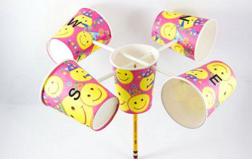 make anemometer paper unusual cups
