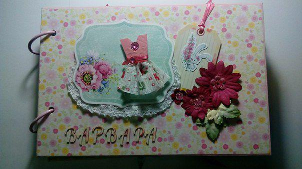 handmade baby pictures photobook