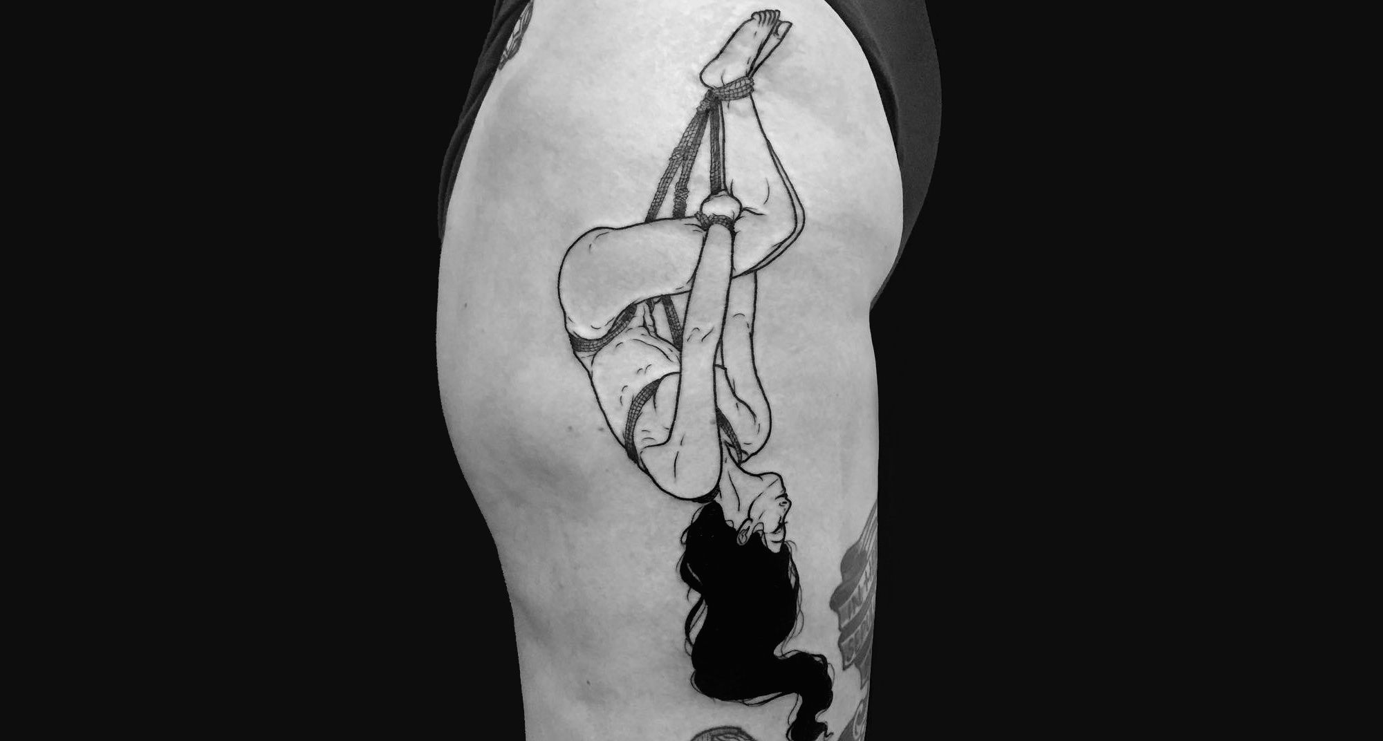 sensuality body tattoo erotic