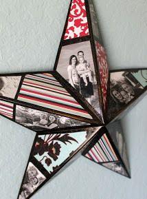 photos star gift present diy idea handmade glue tutorial photo