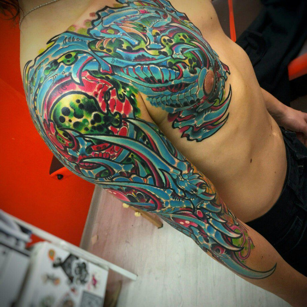 modern tattoo art