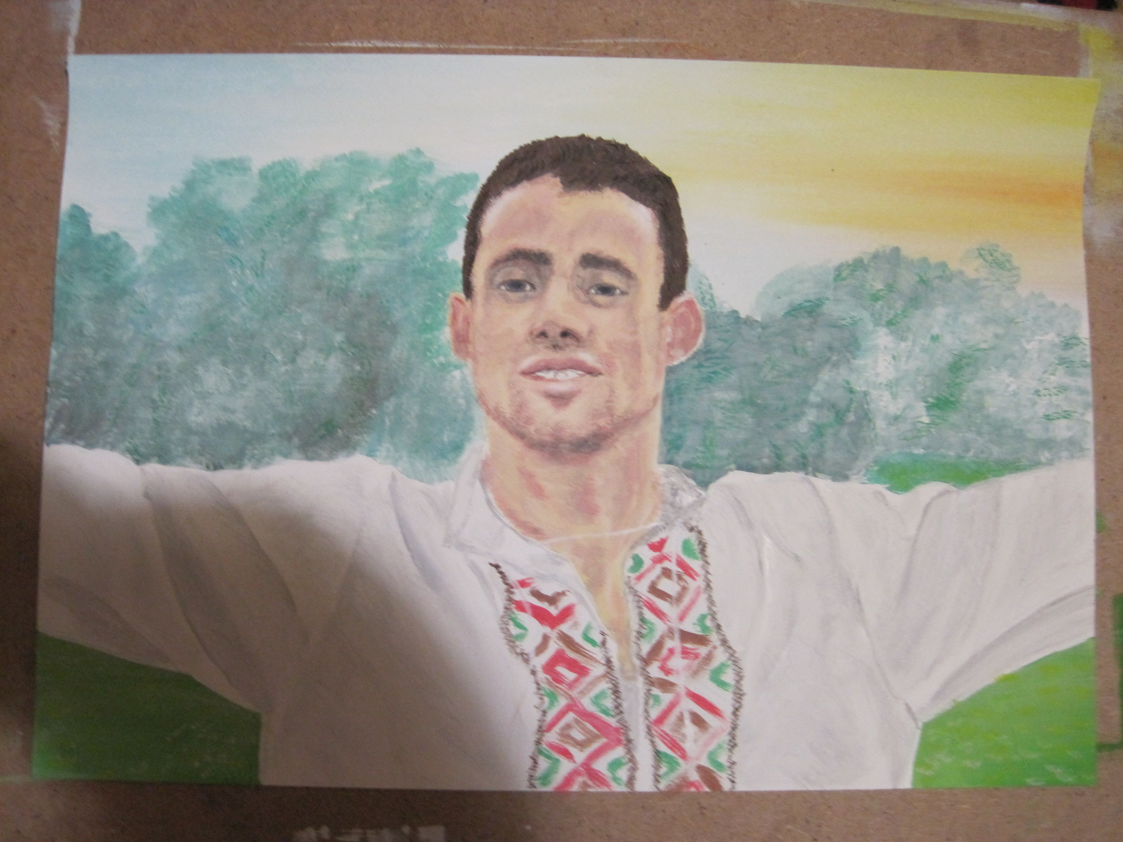 portrait painting art