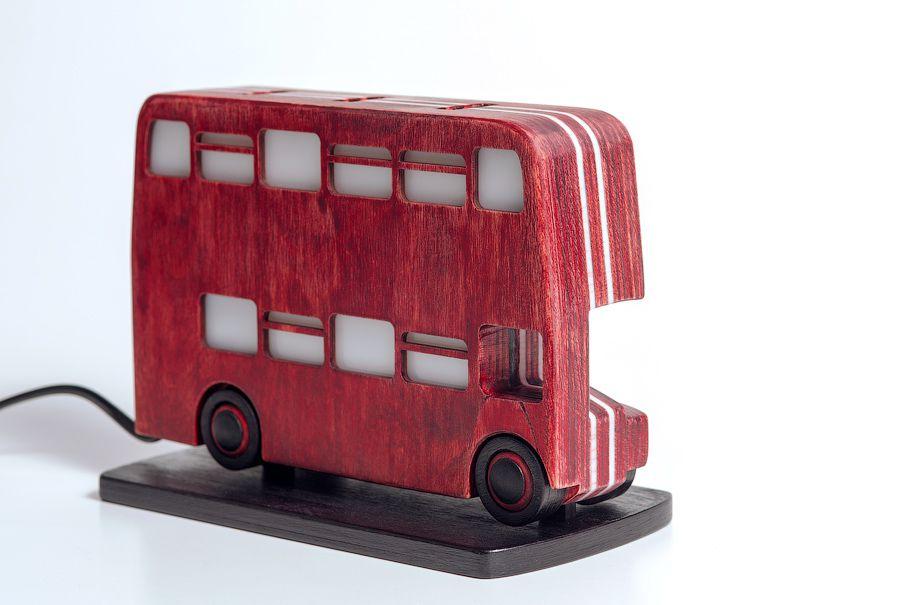 london nightlight bus doubledecker gift