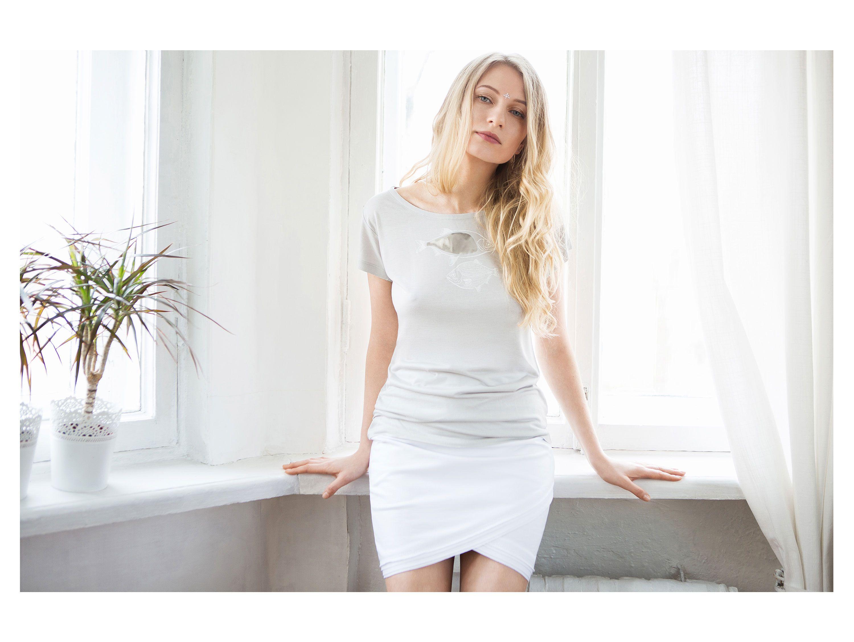 clothes shirt gray vobla eucalyptus organic