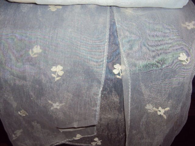 vintage home curtain tulle