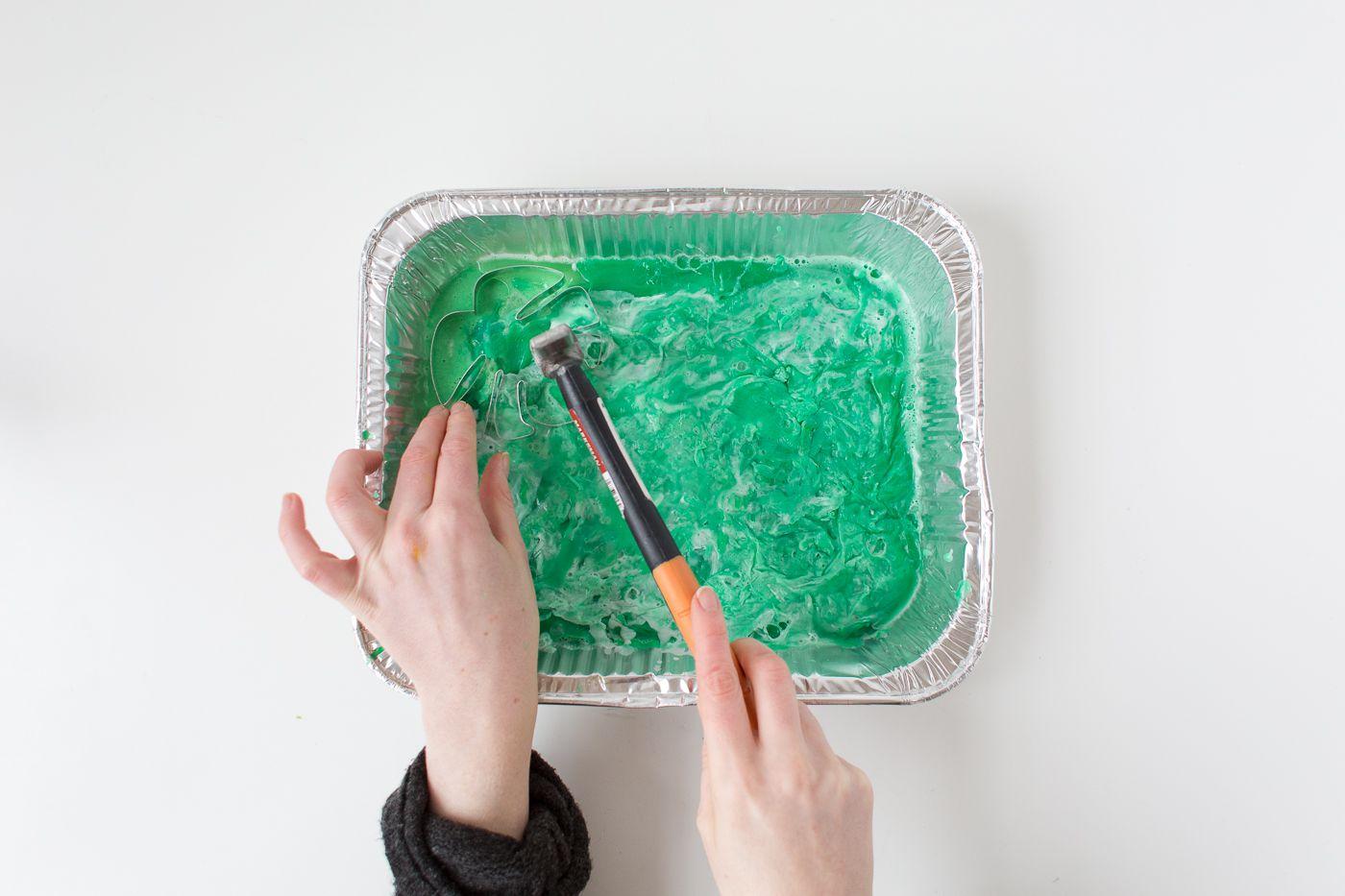 natural bathroom green diy soap