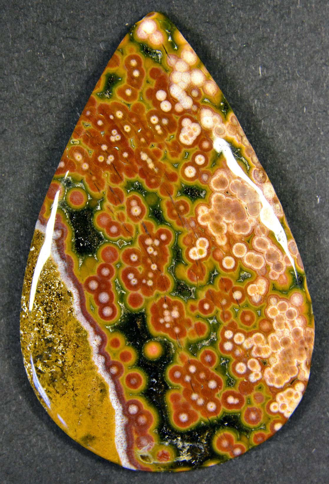 cabochon jasper quartz natural