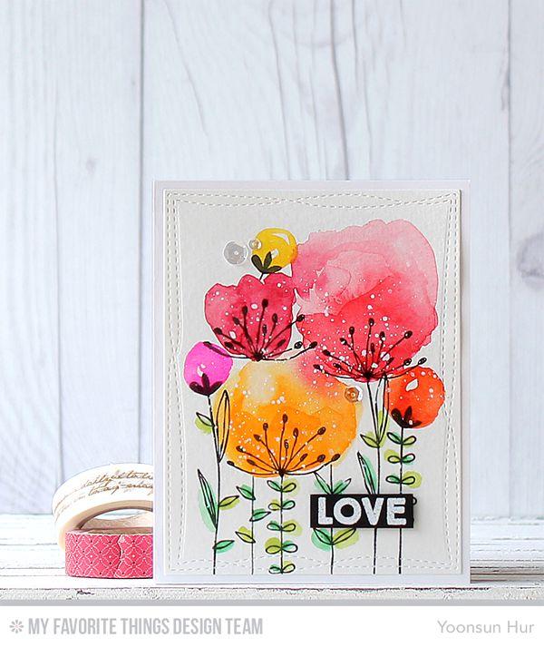 gift art card watercoloring