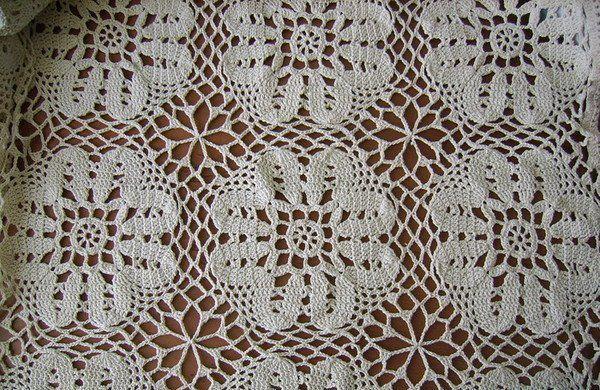 textile crochet tablecloth thread goods