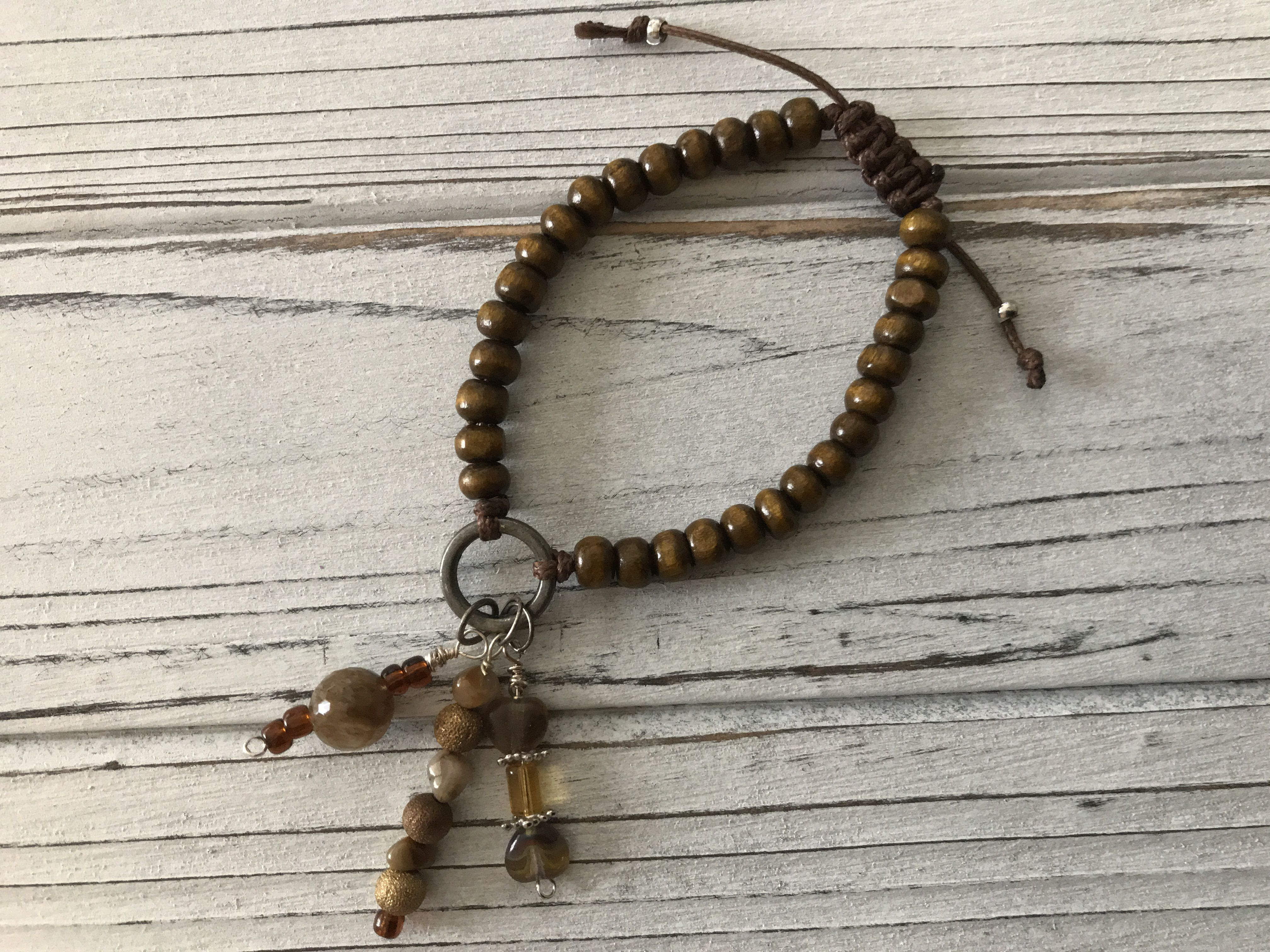 macrame stackthem forhim druzy forher adjustable fitforall dragonfly beads charms druzyheart