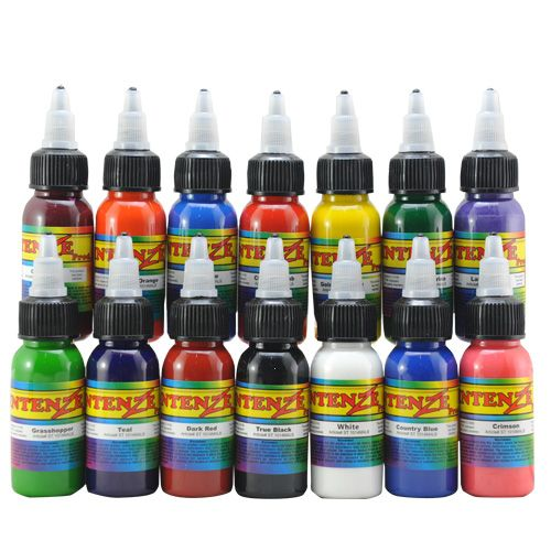 make ink pigments tattoo color