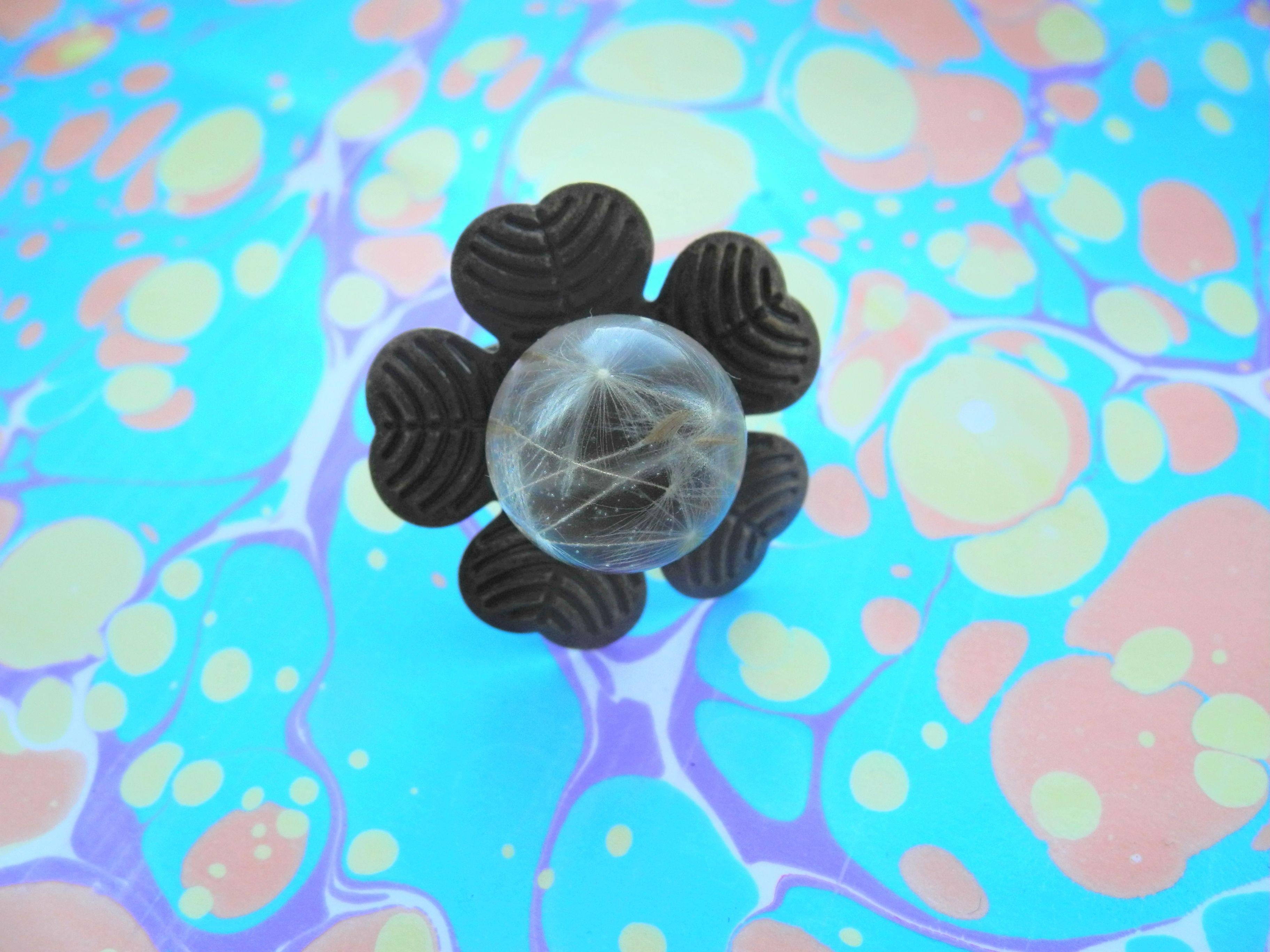handmade ring bijouterie bijou immortelle handmadegifts epoxy
