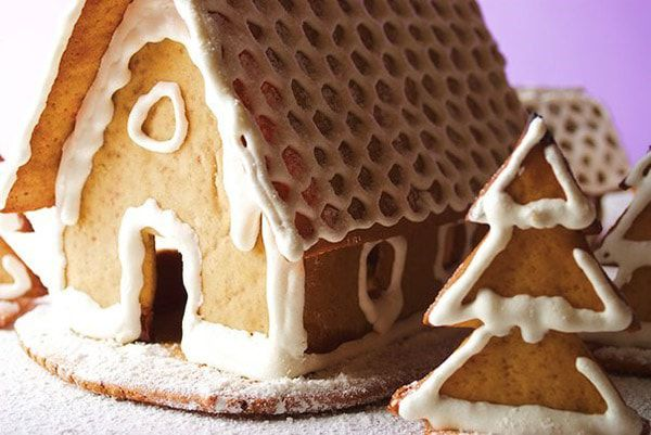 cookery gingerbread house christmas make