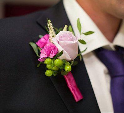 flower wedding rose accessories boutonniere
