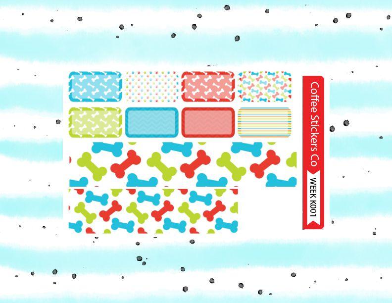 kit weekly condren erin planner sticker