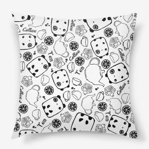decor pillow interior textile panda