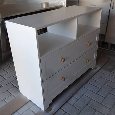make wood dresser commode locker