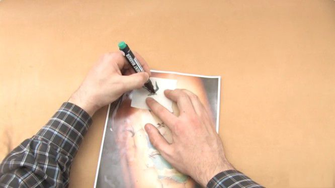 fake deodorant tattoos make talc
