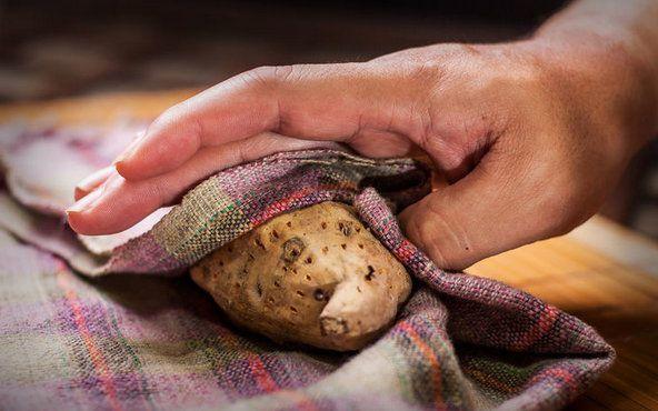 cookery cook potatoes sweet ingredients