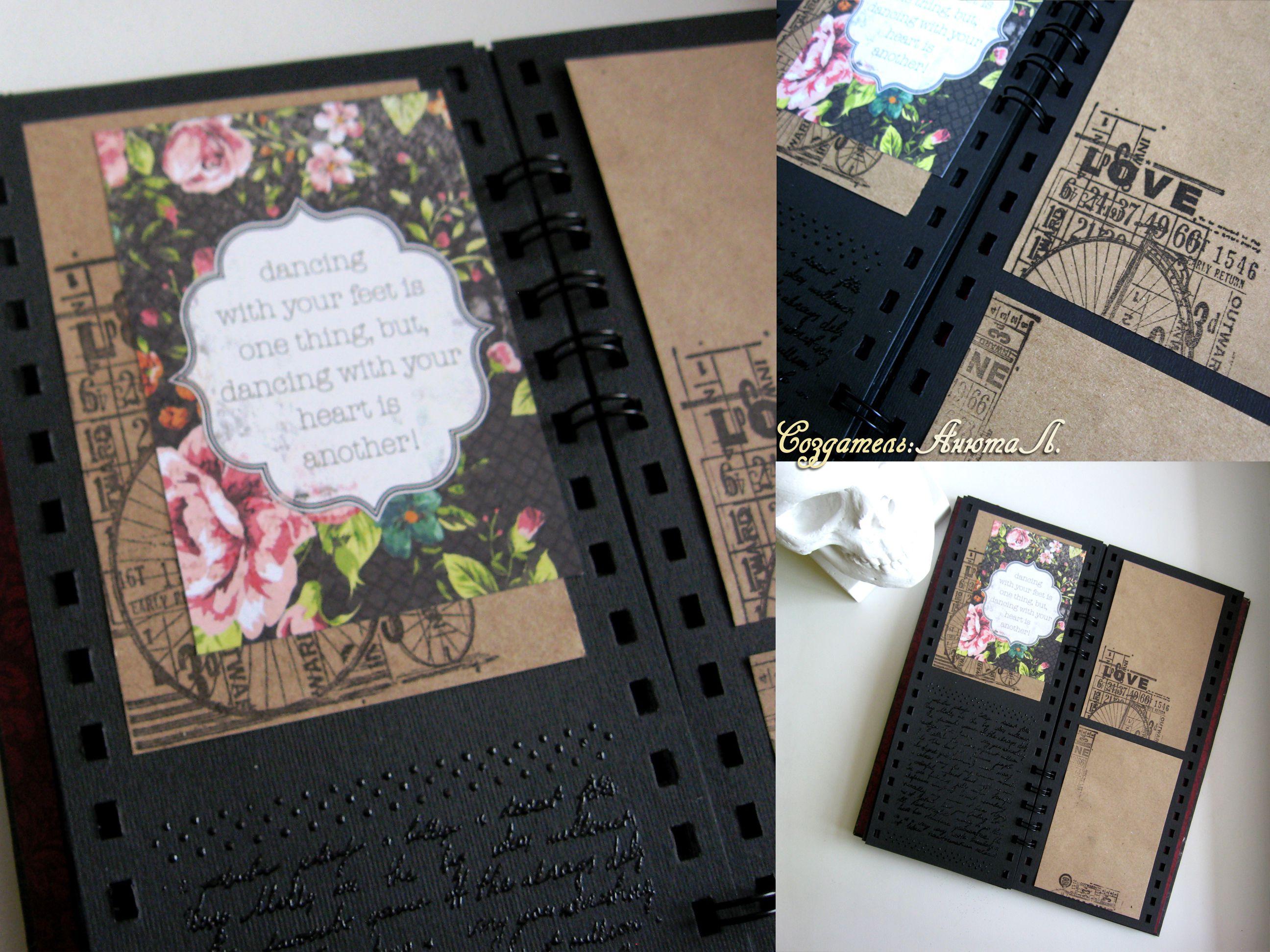 love gift photo paper album