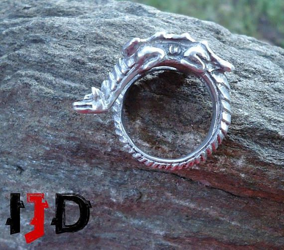 dragon targaryen daenerys game thrones accesoaries jewelry ring statement gothic