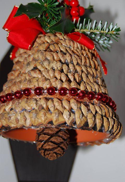 make wooden christmas bells handicrafts