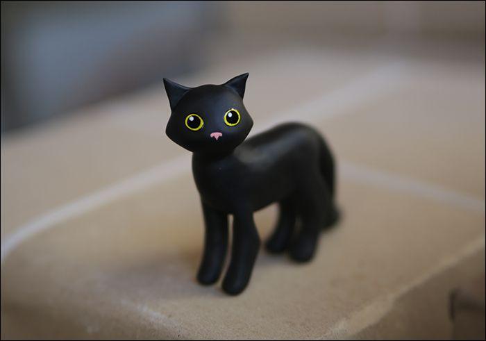 toy kids black cat