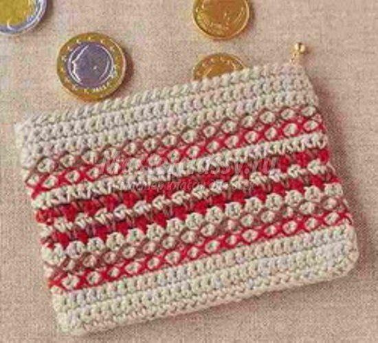 goods crochet purse textile steps