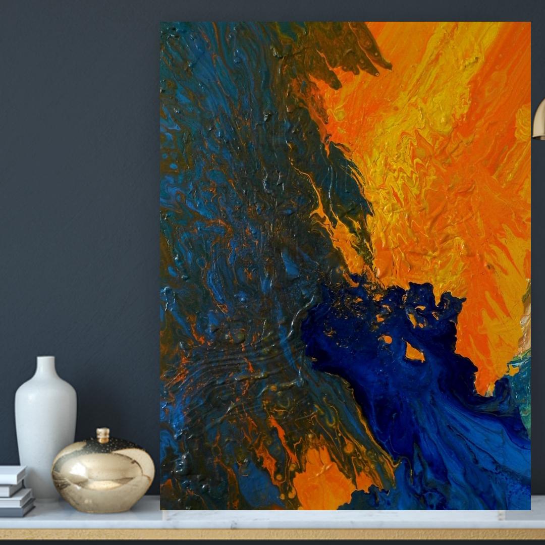 etsyseller abstractart gennhaio largepainting modernwallart