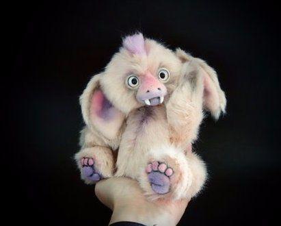 collectable fantasy creature cute artist monster soft ooak handmade teddy teddybear bear art