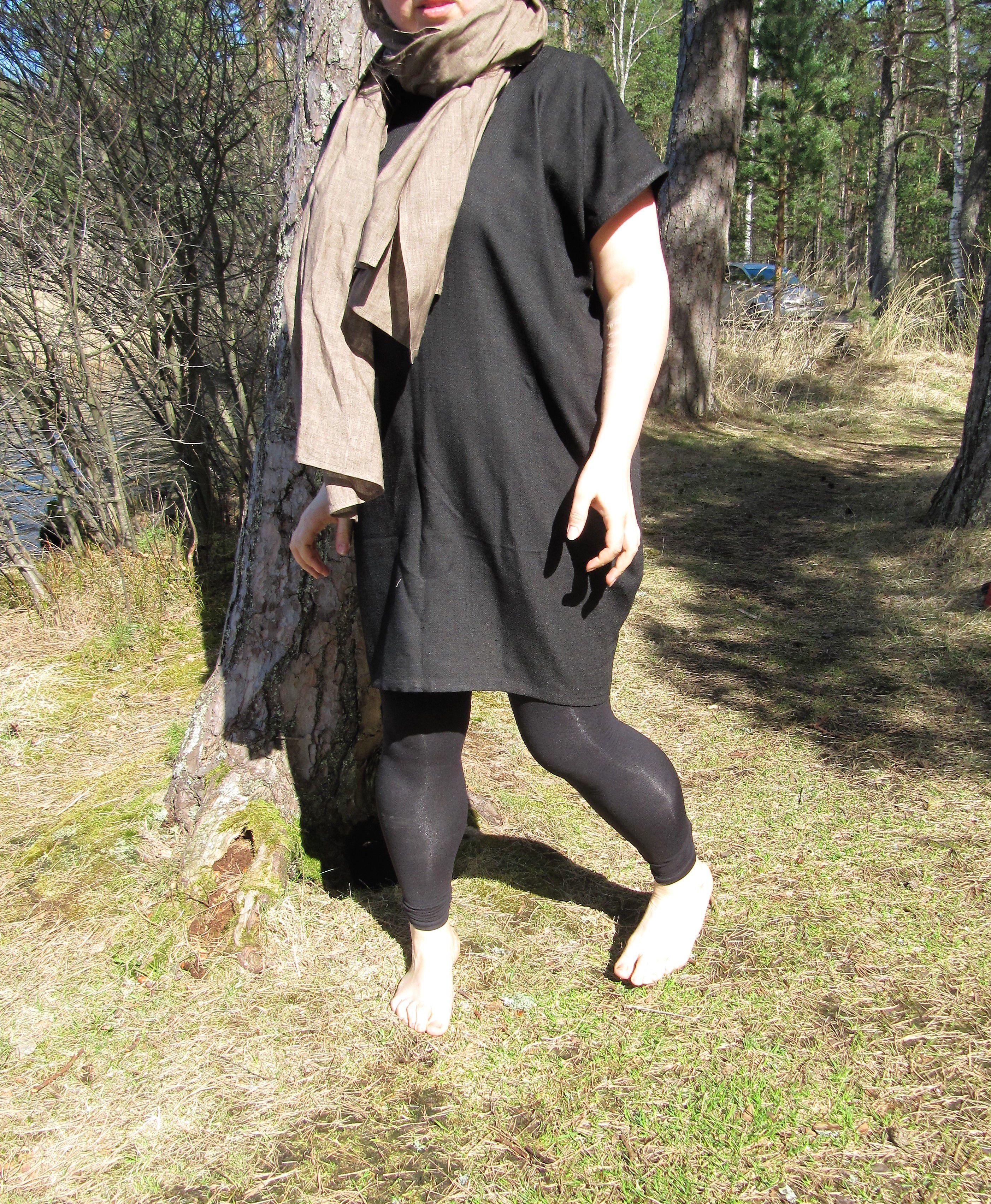 shortdress plussizedress plussize silkblenddress blackdress linendress linen dress