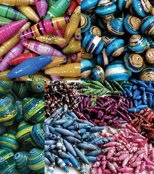 crafts accessory paper beads make