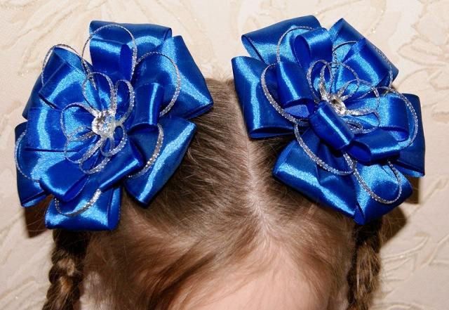 make ribbon accessories hair bows