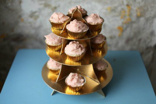 color cookery cupcake stand make