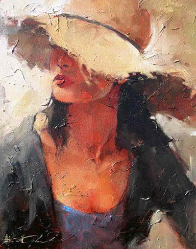 girl interior picture painting art