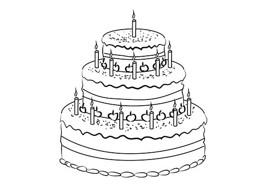 art cake step pencil draw