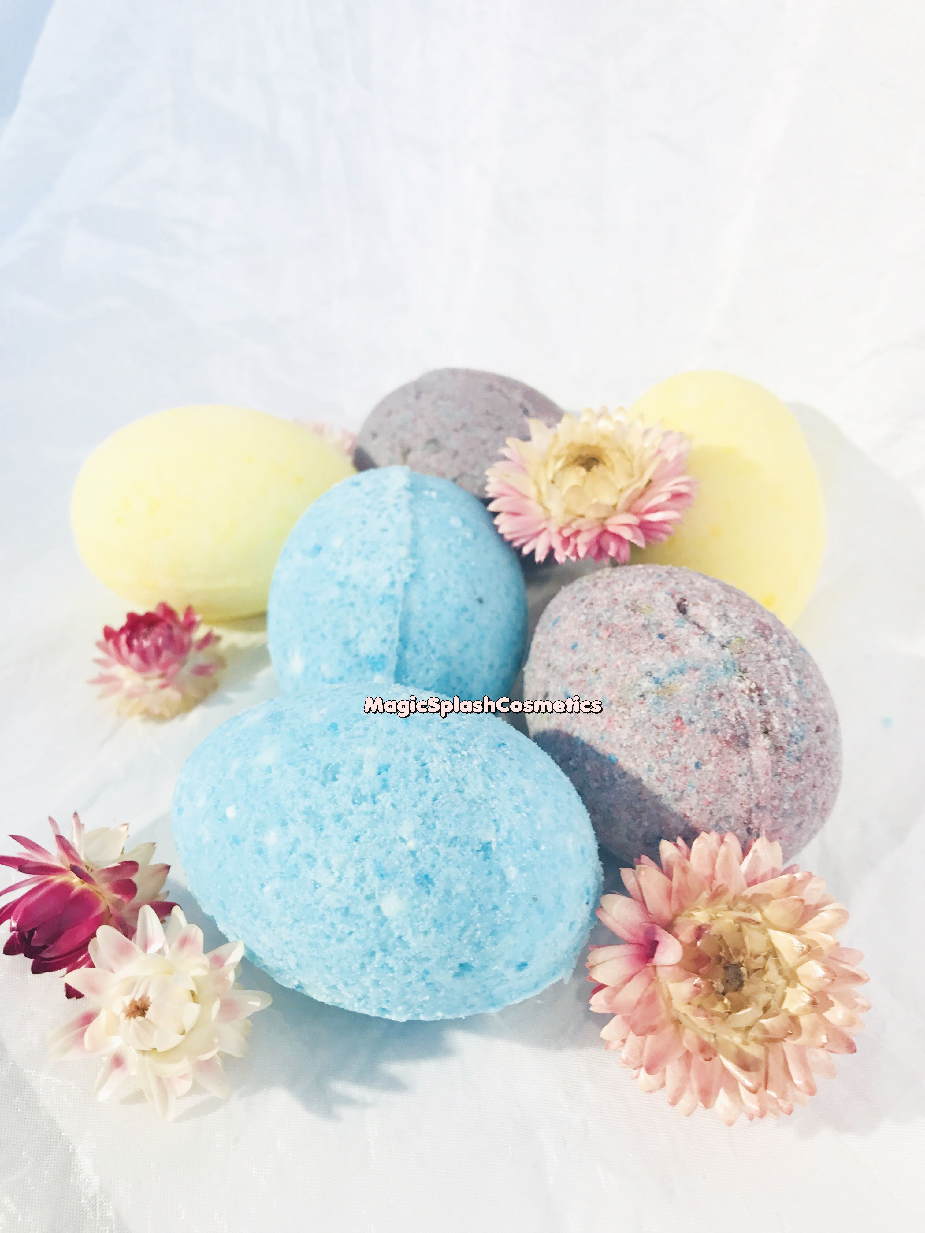 egg peppermint children eggshaped holiday funny eggbathbomb gift giftset set forkids eastergift lavender easter bathbomb vanilla