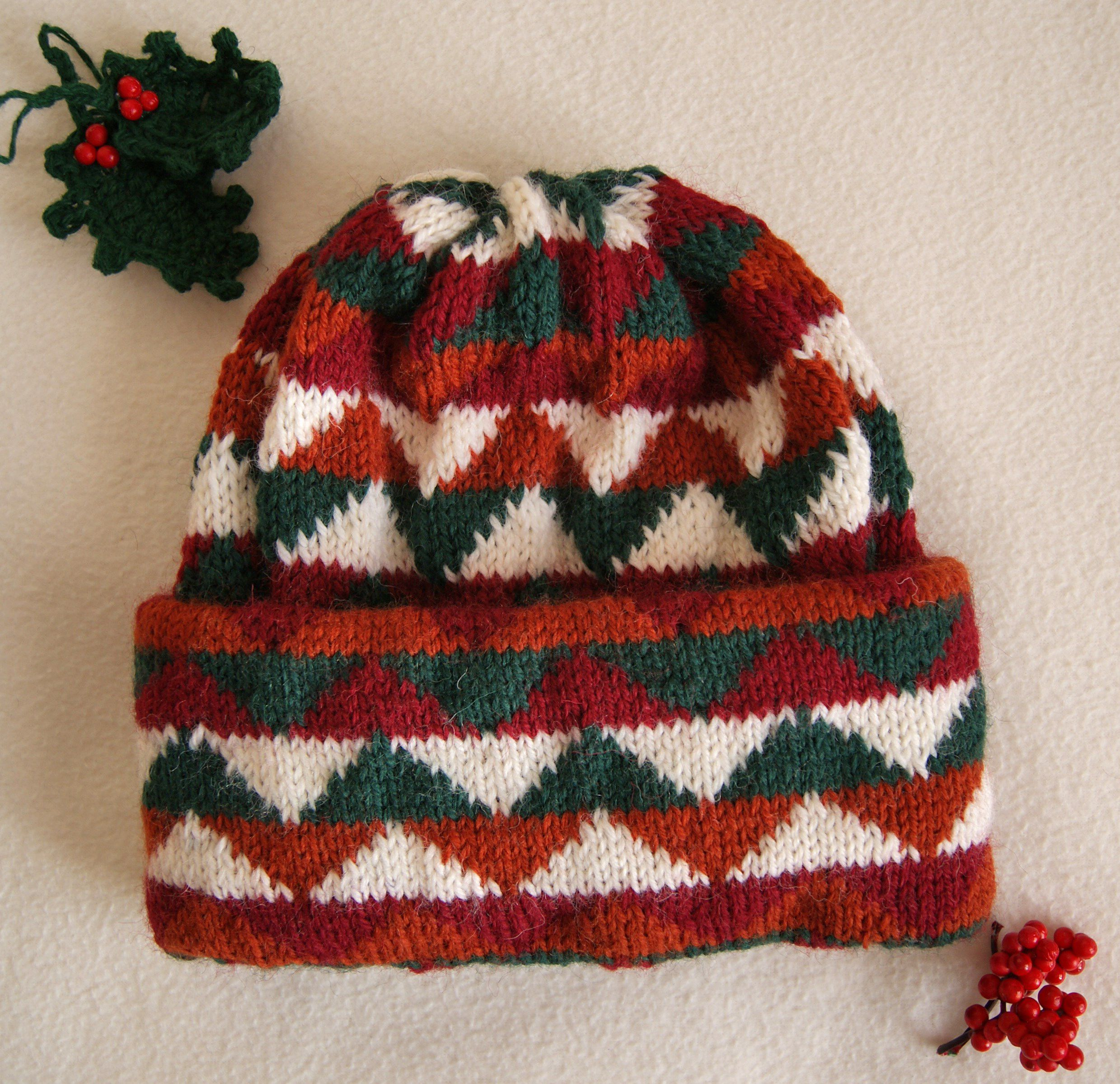 clothes knitting hat christmas cap winter